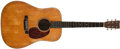 Musical Instruments:Acoustic Guitars, 1941 Martin D-18 Natural Guitar, #78056....