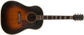 Musical Instruments:Acoustic Guitars, 1951 Gibson Southern Jumbo Sunburst Guitar, #8757 31....