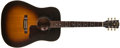 Musical Instruments:Acoustic Guitars, 1994 Gibson Gospel Sunburst Guitar, #91034049....