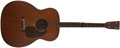 Musical Instruments:Acoustic Guitars, 1933 Martin 0-17T Brown Mahogany Guitar, #54464....