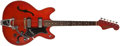 Musical Instruments:Electric Guitars, 1967 Hagstrom Viking Cherry Guitar, #712935....