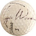 Golf Collectibles:Autographs, 1993 Tiger Woods Signed Golf Ball....