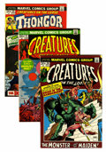 Bronze Age (1970-1979):Horror, Creatures on the Loose Group - Western Penn pedigree (Marvel,1973-75) Condition: Average VF/NM.... (Total: 9 Comic Books)