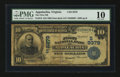 National Bank Notes:Virginia, Appalachia, VA - $10 1902 Date Back Fr. 618 The First NB Ch. #(S)9379. ...