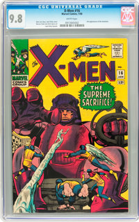X-Men #16 (Marvel, 1966) CGC NM/MT 9.8 White pages
