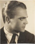 Movie/TV Memorabilia:Autographs and Signed Items, James Cagney Autographed Photo....