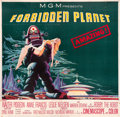 "Movie Posters:Science Fiction, Forbidden Planet (MGM, 1956). Six Sheet (81"" X 81"").. ..."