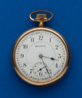 Timepieces:Pocket (post 1900), Burlington 16 Size, 21 Jewels. ...