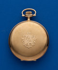 Timepieces:Pocket (post 1900), Waltham 14k 16 Size Hunters Case. ...
