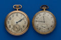 Timepieces:Pocket (post 1900), Two - Elgin Gold Filled, 12 Size. ... (Total: 2 Items)
