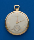 Timepieces:Pocket (post 1900), Hamilton 14k Gold 23 Jewel Grade 945. ...