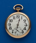 Timepieces:Pocket (post 1900), Illinois, 16 Size Total Mystery Pocket Watch. ...