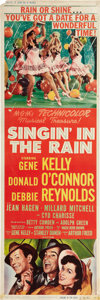 "Movie Posters:Musical, Singin' in the Rain (MGM, 1952). Door Panels (3) (20"" X 60"").. ...(Total: 3 Items)"