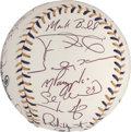 Autographs:Baseballs, 2002 American League All Star Team Signed Baseball....