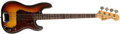 Musical Instruments:Bass Guitars, 1968 Fender Precision Sunburst Bass Guitar, #F222602....
