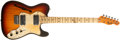 Musical Instruments:Electric Guitars, 1972 Fender Telecaster Thinline Sunburst Electric Guitar,#368387....