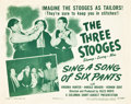 "Movie Posters:Comedy, Sing a Song of Six Pants Lot (Columbia, 1947). Title Lobby Card andLobby Card (11"" X 14"").. ... (Total: 2 Items)"