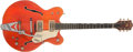 Musical Instruments:Electric Guitars, 1967 Gretsch Nashville Orange Electric Guitar, #76840....