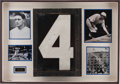 Baseball Collectibles:Others, Yankee Stadium Original No. 4 From Scoreboard Display....