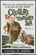 """Movie Posters:Horror, Creature from the Haunted Sea (Filmgroup, Inc., 1961). One Sheet (27"""" X 41"""") and Lobby Cards (6) (11"""" X 14""""). Horror.. ... (Total: 7 Items)"""
