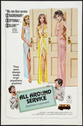 """Movie Posters:Adult, All Around Service Lot (Brian Distributing Corporation, 1976). One Sheets (2) (27"""" X 41""""). Adult.. ... (Total: 2 Items)"""