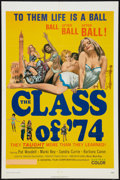 "Movie Posters:Sexploitation, The Class of '74 (General Film, 1972). One Sheet (27"" X 41"") andPhotos (5) (8"" X 10""). Sexploitation.. ... (Total: 6 Items)"