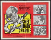 "The Sadist (Cinemation, R-1971). Half Sheet (22"" X 28""). Horror. Reissue title was Sweet Baby Charlie"