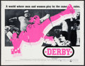 "Movie Posters:Sports, Derby (Cinerama Releasing, 1971). Half Sheet (22"" X 28"") and Lobby Cards (7) (11"" X 14""). Sports.. ... (Total: 8 Items)"
