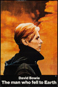 "Movie Posters:Science Fiction, The Man Who Fell to Earth (Cinema 5, 1976). One Sheet (27"" X 41"") Flat Folded. Science Fiction.. ..."