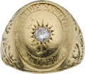 Baseball Collectibles:Others, 1926 St. Louis Cardinals World Championship Ring Presented to Team Owner....