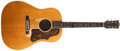 Musical Instruments:Acoustic Guitars, 1952 Gibson J-50 Natural Acoustic Guitar, #Y52449....