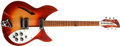 Musical Instruments:Electric Guitars, 1966 Rickenbacker 330 Fireglo Electric Guitar, #FJ3325....
