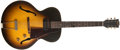 Musical Instruments:Electric Guitars, 1956 Gibson ES-125 Sunburst Electric Archtop, #V7742-4....
