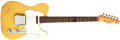 Musical Instruments:Electric Guitars, 1962 Fender Telecaster Yellow Electric Guitar, #75799....