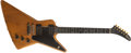 Musical Instruments:Electric Guitars, 1976 Gibson E2 Explorer Natural Walnut Electric Guitar,#73169053....