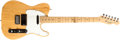 Musical Instruments:Electric Guitars, 1993 Fender Telecaster Natural Electric Guitar, #N3939684....