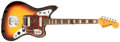 Musical Instruments:Electric Guitars, 1967 Fender Jaguar Sunburst Electric Guitar, #171128....