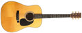 Musical Instruments:Acoustic Guitars, 1982 Martin HD-28 Natural Acoustic Guitar, #439022....