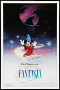 """Movie Posters:Animated, Fantasia (Buena Vista, R-1990). 50th Anniversary One Sheet (27"""" X 41"""") DS. Animated.. ..."""