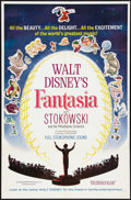 "Movie Posters:Animated, Fantasia (Buena Vista, R-1963). One Sheet (27"" X 41""). Animated....."