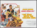 "Movie Posters:James Bond, The Man With the Golden Gun (United Artists, 1974). British Quad (30"" X 40""). James Bond.. ..."