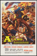 "Movie Posters:Western, The Alamo (United Artists, 1960). One Sheet (27"" X 41""). Western....."