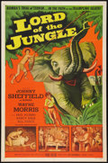 "Movie Posters:Adventure, Lord of the Jungle (Allied Artists, 1955). One Sheet (27"" X 41"").Adventure.. ..."
