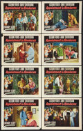 "Movie Posters:Adventure, Appointment in Honduras (RKO, 1953). Lobby Card Set of 8 (11"" X14""). Adventure.. ... (Total: 8 Items)"