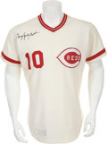 Baseball Collectibles:Uniforms, 1974 Sparky Anderson Game Worn Cincinnati Reds Jersey....