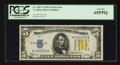 Small Size:World War II Emergency Notes, Fr. 2307* $5 1934A North Africa Silver Certificate. PCGS Gem New65PPQ.. ...