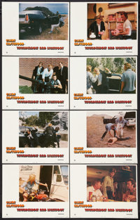 """Thunderbolt and Lightfoot (United Artists, 1974). Lobby Card Set of 8 (11"""" X 14""""). Crime. ... (Total: 8 Items)"""