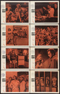 """Movie Posters:Bad Girl, House of Women (Warner Brothers, 1962). Lobby Card Set of 8 (11"""" X14""""). Bad Girl.. ... (Total: 8 Items)"""