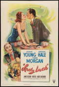 "Movie Posters:Comedy, Lady Luck (RKO, 1946). One Sheet (27"" X 41""). Comedy.. ..."