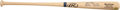 Baseball Collectibles:Bats, Bob Feller Signed Stat Inscribed Baseball Bat....